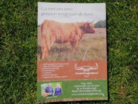 flyer schotsehooglanders folder